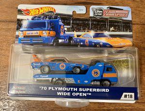 Hot Wheels '70 Plymouth superbird Team Transport for Sale in El Cajon, CA