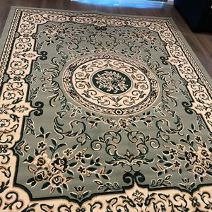 Aqua Green Area Rug 8 by 10 ft for Sale in Long Beach, CA