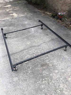 Heavy Duty Queen/full/twin Metal Bed Frame for Sale in Raleigh, NC