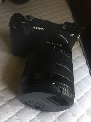 Sony A 6300 Camera Great Condition for Sale in Houston, TX