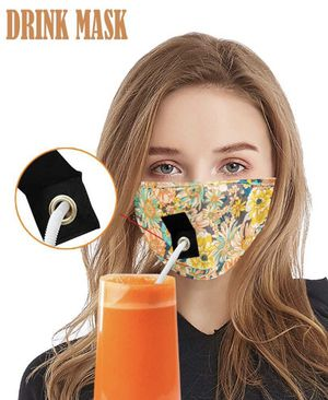 Women fabric 3 layers fabric mask. New with zip bag. Washable reusable. 2 for $12, $6 each for Sale in Anaheim, CA