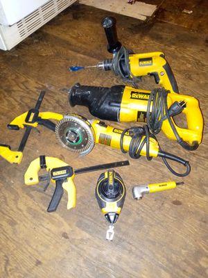 Dewalt (5) tool plus set for Sale in Spartanburg, SC