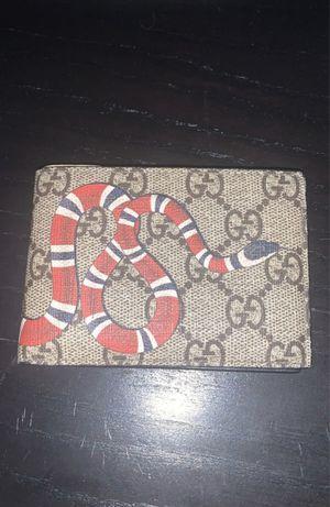 snake Gucci supreme wallet ! 265 $ OBO for Sale in Burbank, CA