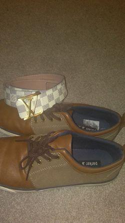 Dress shoes with Louis Vuitton belt for Sale in La Vergne,  TN