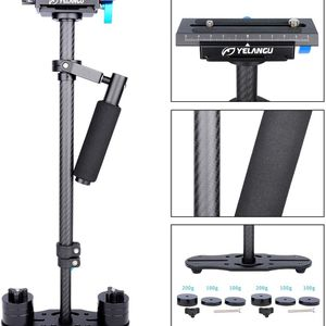 YELANGU S60T DSLR Carbon Fiber Handheld Camera Stabilizer DSLR Cameras for Sale in Los Angeles, CA