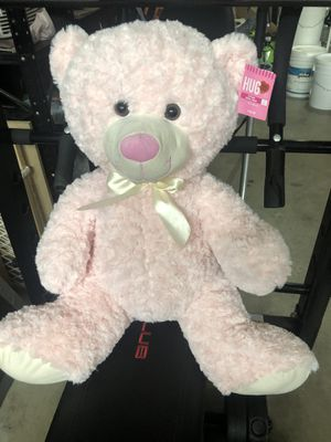 Pink Stuffed Bear for Sale in San Diego, CA