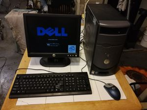 Dell Dimension 3000 computer with monitor for Sale in Jersey City, NJ