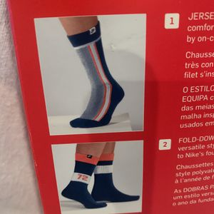 NEW NIKE SOCKS 12-15 2 Pair Nike Crew Socks $5 for Sale in Fontana, CA