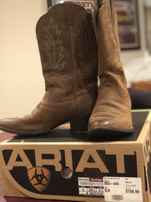 Ariat cowboy boots, size 8.5 for Sale in Rockville, MD