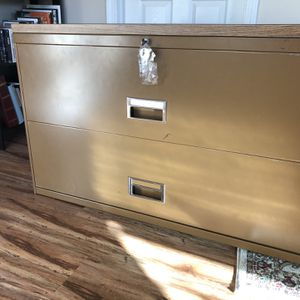Large Two-Drawer Filing Cabinet for Sale in Sacramento, CA