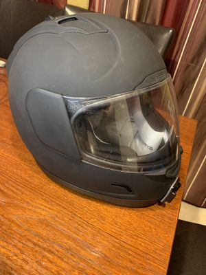 Icon Airmada Motorcycle Helmet XL Flat Black for Sale in Houston, TX