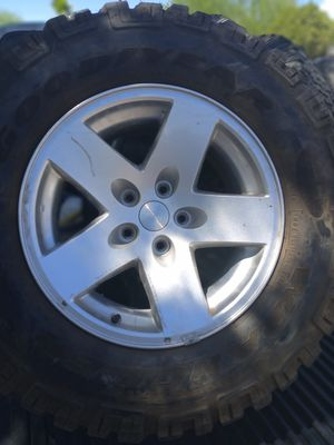 Jeep wheels and tires for Sale in Tucson, AZ