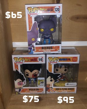 Dragon Ball Funko Pop Toy Collectible for Sale in Tacoma, WA