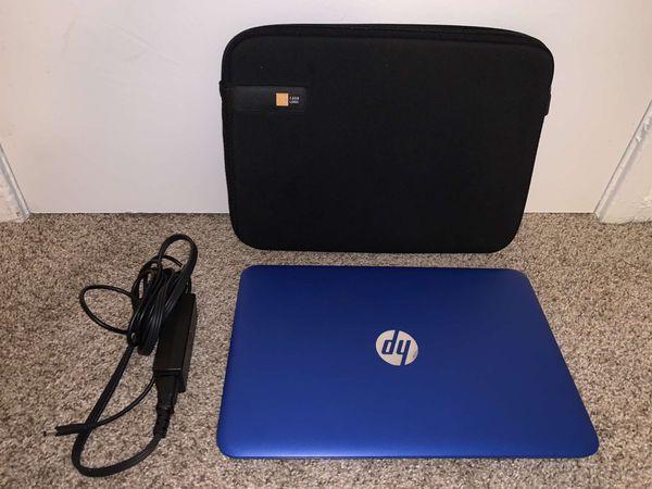 Blue Hp laptop 14
