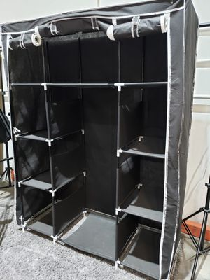 Black Portable Closet Organizer for Sale in Ontario, CA