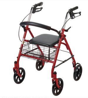 Drive Medical Four Wheel Rollator Rolling Walker 65 for Sale in Stanton, CA