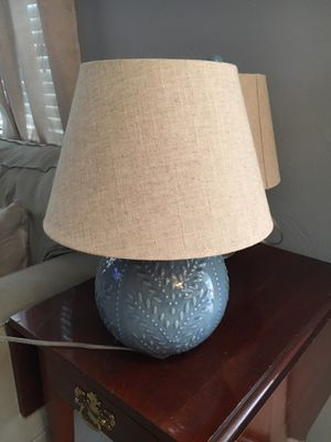 Two Cute Pier One Lamps for Sale in Denver, CO