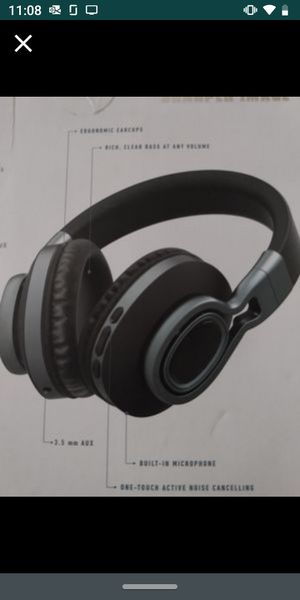 SHARPER IMAGE NOISE CANCELLING HEADPHONES BRAND NEW!! for Sale in Perris, CA