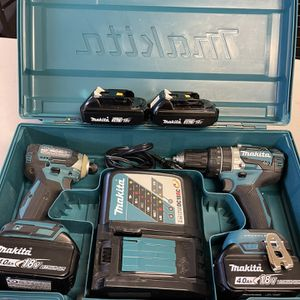 Makita 18V Hammer Drill & Impact Driver combo for Sale in Las Vegas, NV