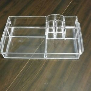 Acrylic makeup organizer cosmetic try for Sale in West Hartford, CT