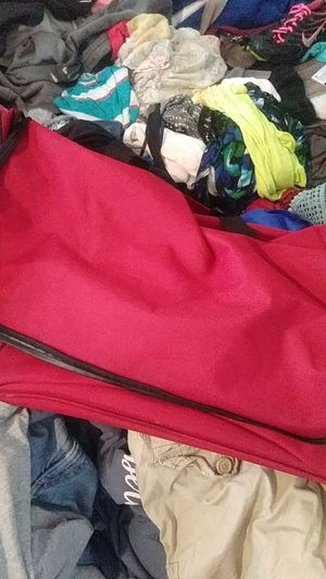 Red duffle bag for Sale in Oklahoma City, OK