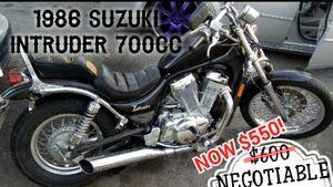 1986 Suzuki Intruder VS700 $550 READ AD BEFORE YOU MESSAGE ME for Sale in Los Angeles, CA