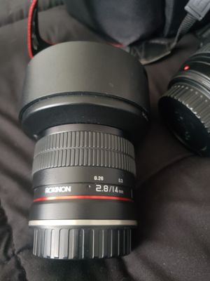 Camera lens for Sale in Cypress, CA