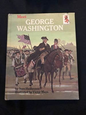 1964 meet George Washington book by Heilbroner & Mays for Sale in Portland, OR