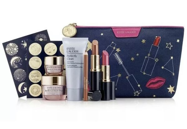 Estee Lauder 7 Pc Resilience Multi-Effect Gift Set - SEALED