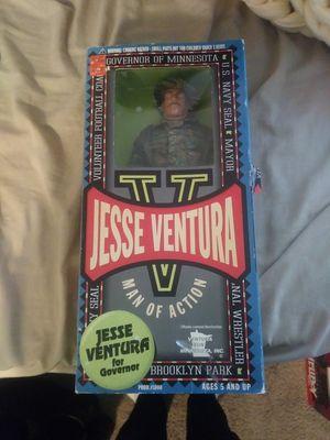Jesse ventura man of action navy seal figure for Sale in Gresham, OR