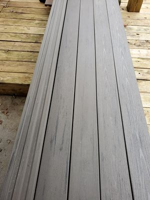 19 boards of Timbertech Azek composite decking in Gray color for Sale in Laurel, MD