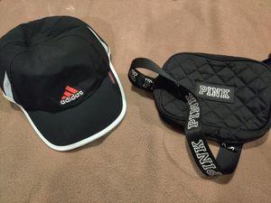 Victoria secret pink bag, Adidas woman's hat, Cali hat for Sale in Escondido, CA