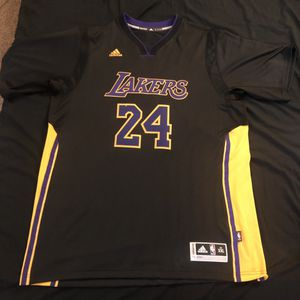 Adidas Lakers Hollywood nights jersey size 2XL for Sale in Fresno, CA