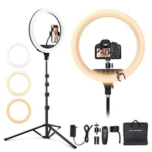 18-in Led Ring Light with Tripod Stand & Phone Holder for Sale in Long Beach, CA