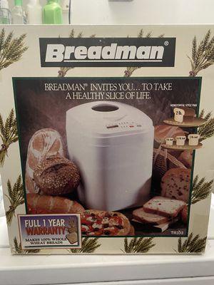 Breadman Bread Maker - Never used for Sale in Anaheim, CA