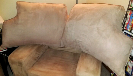 2--New Suede Couch Back Cushions for Sale in Saint Charles,  MO