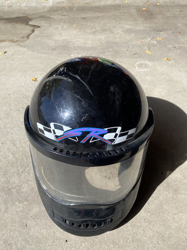 Used Snowmobile Helmet