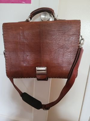 Leather briefcase for Sale in Mineola, NY