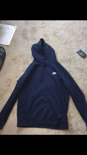 Blue nike Hoodie size Medium for Sale in Silver Spring, MD