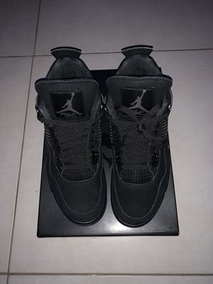 "Air Jordan 4 ""Black Cat"" for Sale in Miami Shores, FL"