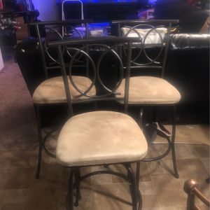 3 Tall Swivel Chairs for Sale in Vancouver, WA