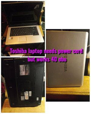 Toshiba laptop for Sale in Waynesville, MO