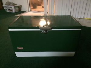 Large Coleman Cooler for Sale in Chandler, AZ