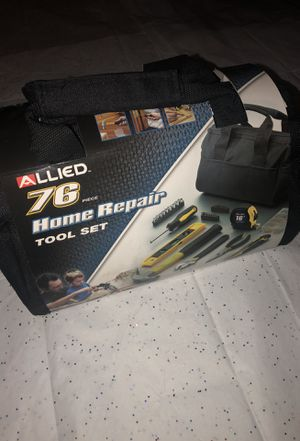 Allied Tools Home Repair 76 Piece Tool Set for Sale in Kennewick, WA