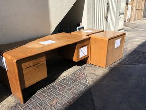 FREE DESK AND FILE CABINETS for Sale in Huntington Beach, CA