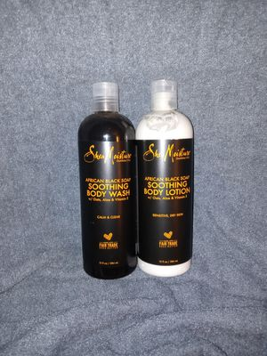 Shea Moisture Body Wash & Lotion for Sale in Spartanburg, SC
