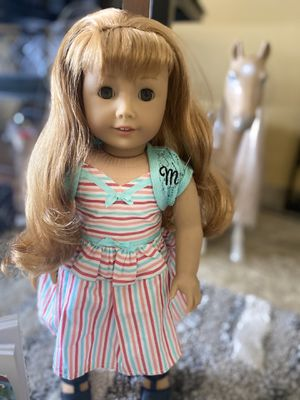 American Girl Doll Maryellen with book for Sale in Downey, CA