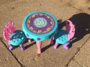 Fairy Kids Table And Chairs for Sale in Westmont, IL