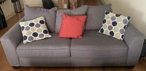 Gray Couch for Sale in Richardson, TX