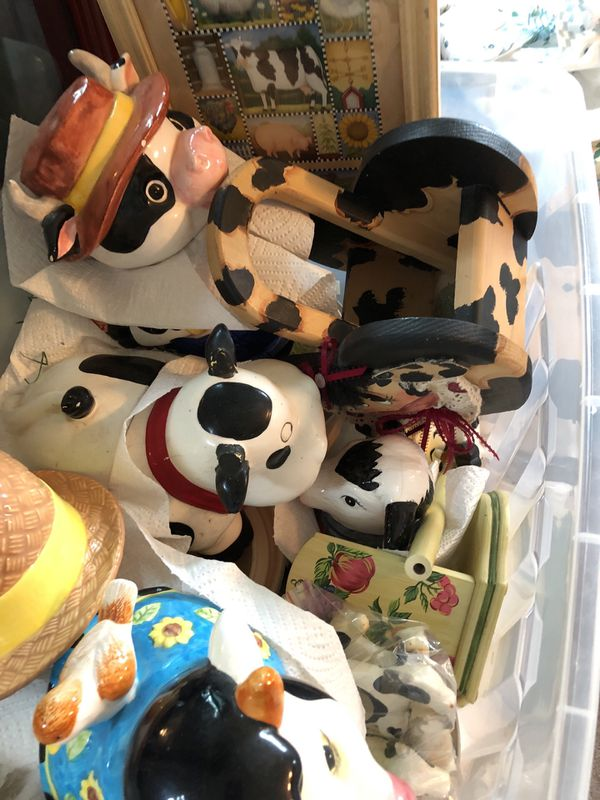 Cow 🐮 Cookie Jars And Decoration